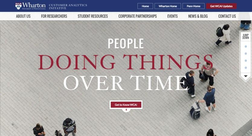 Wharton Customer Analytics Initiative