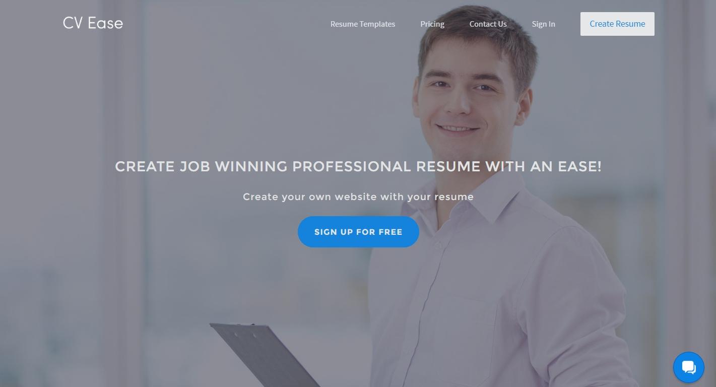 Resume builder CV Ease Create resume