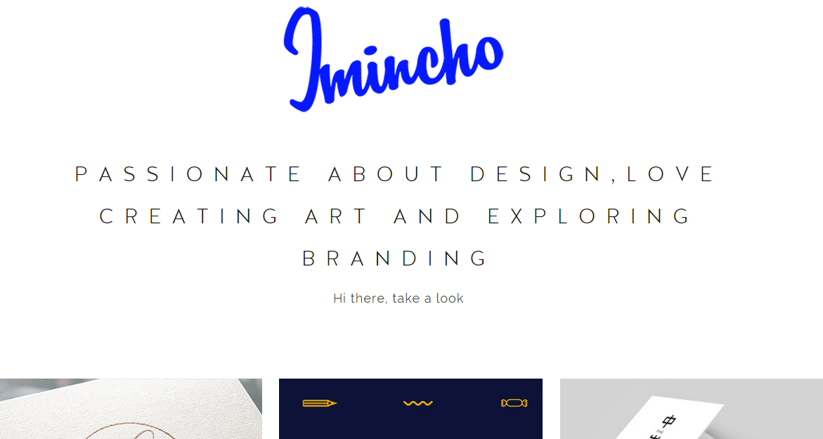 JminCho Portfolio