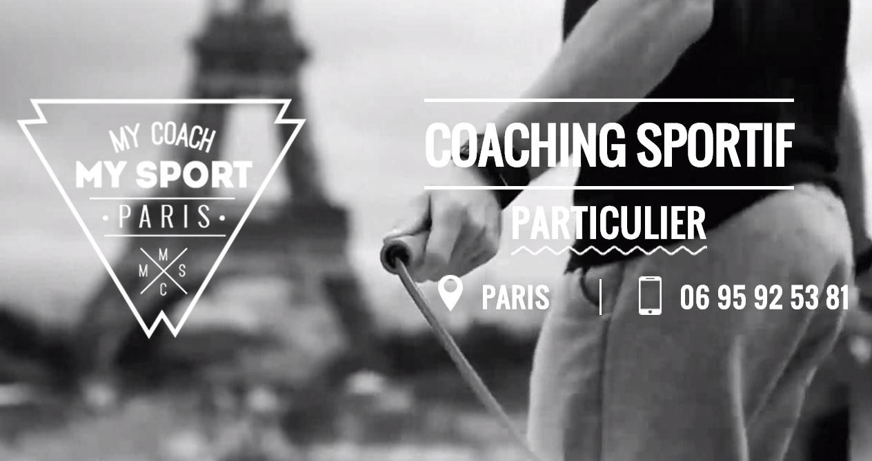 My Coach My Sport Paris