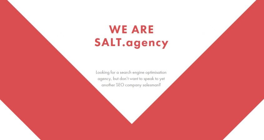 SALT.agency - A UK technical marketing agency
