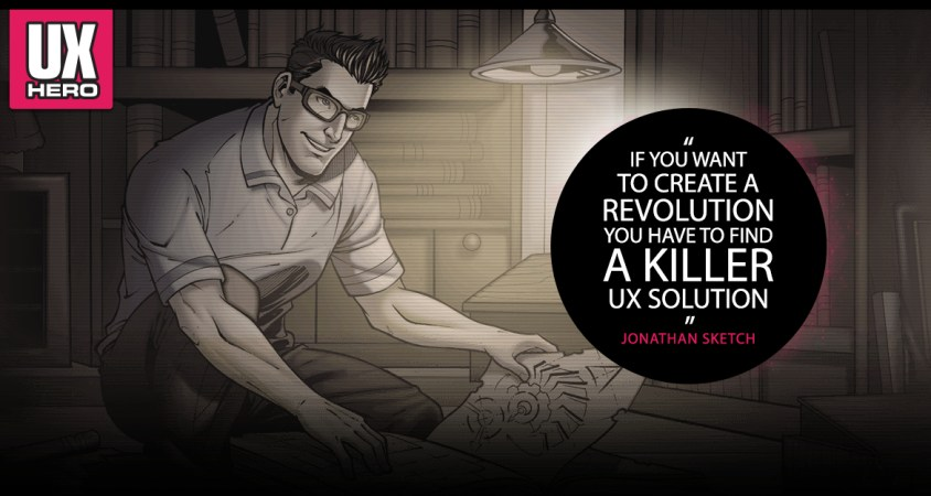UX Hero Comics