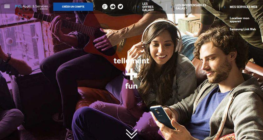 Samsung Applis et Services