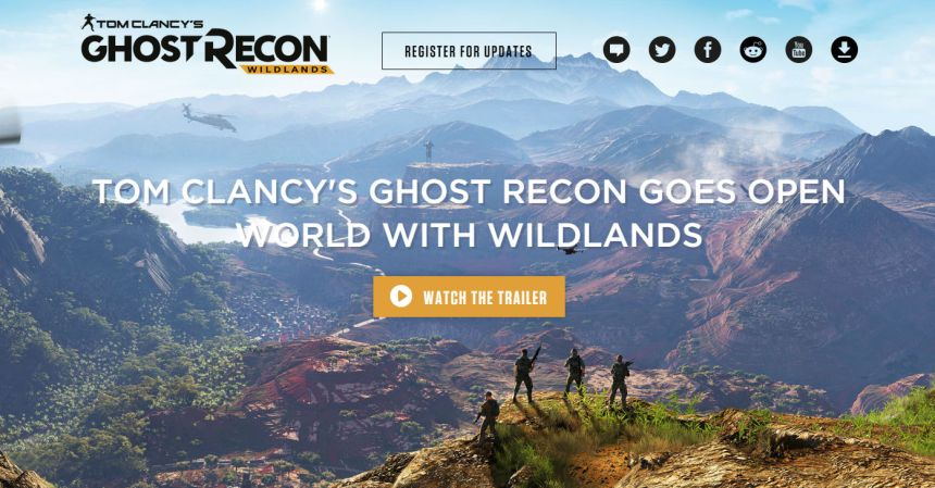 Ubisoft Ghost Recon Wildlands