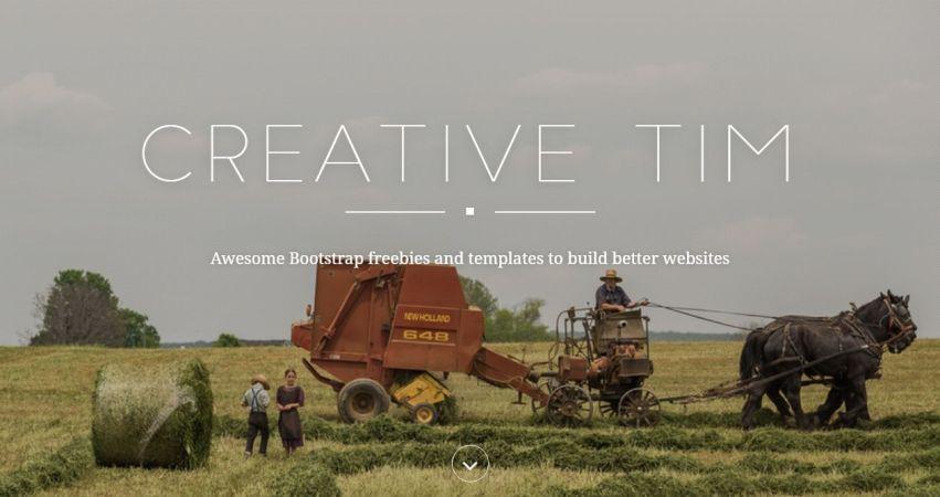 Creative Tim Presentation