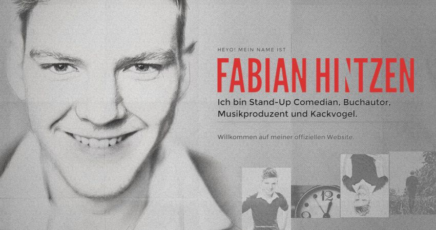 Fabian Hintzen — Official Website