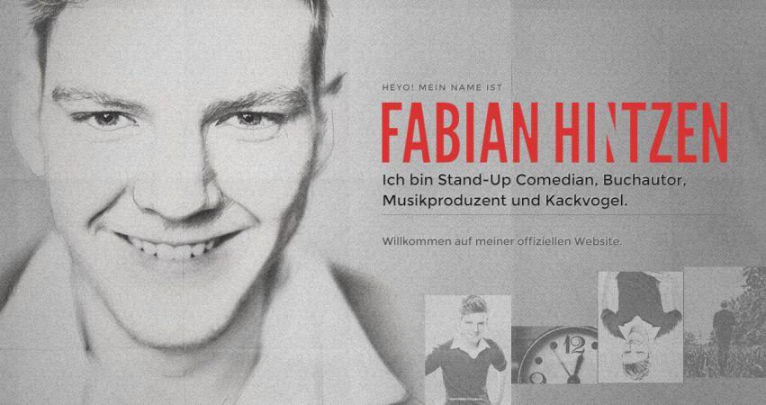 Fabian Hintzen — Official Website
