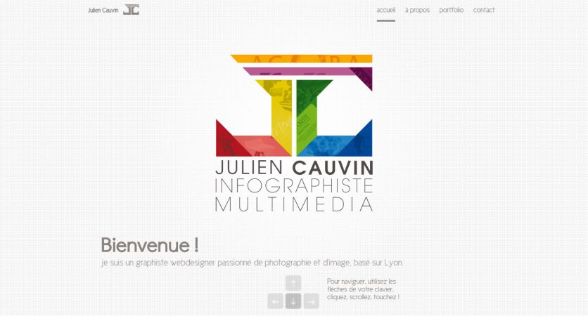Julien Cauvin - Web & Graphic Designer
