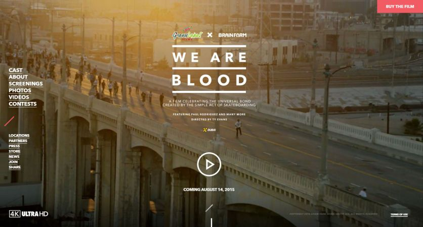We Are Blood — SkateBoarding