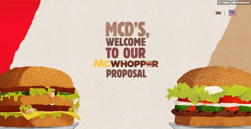 The McWhopper Proposal