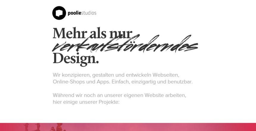 PoolieStudios DesignAgentur
