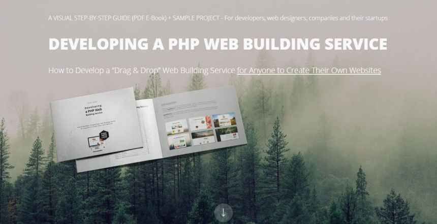 Page With Love - Building Web Builder (a Visual Guide)