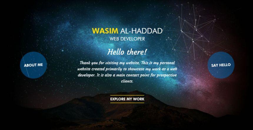 Wasim Al-Haddad Web Developer