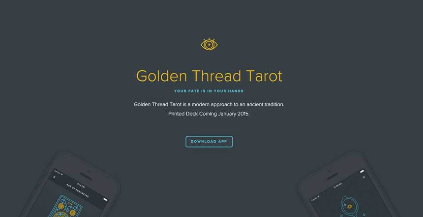 Golden Thread Tarot