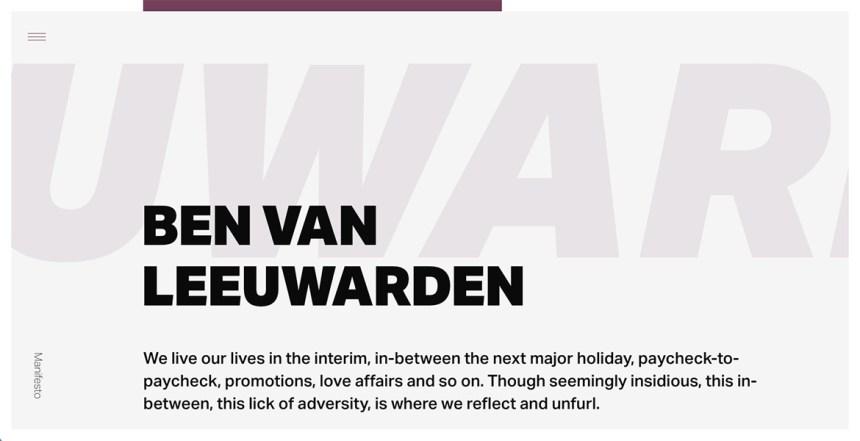 Ben Van Leeuwarden
