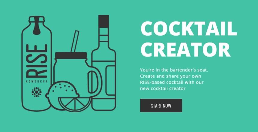 RISE Kombucha Cocktail Creator
