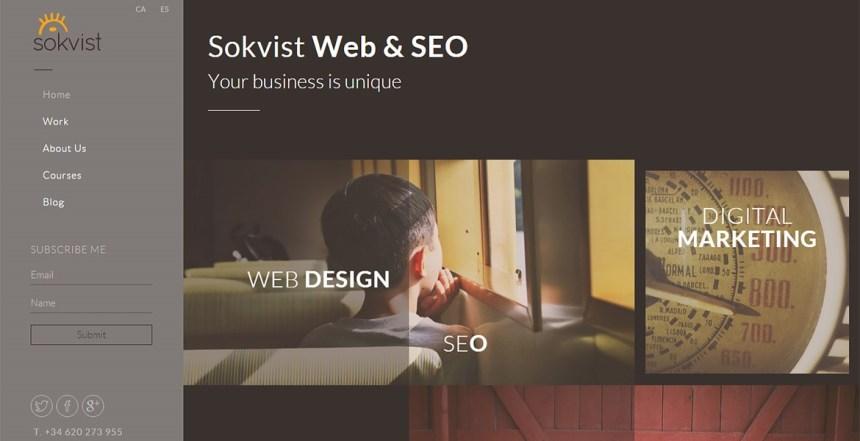 Sokvist — Web & SEO