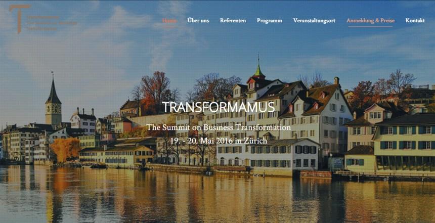 Transformamus