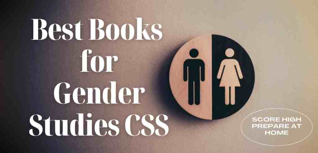 best book for gender studies css preparation