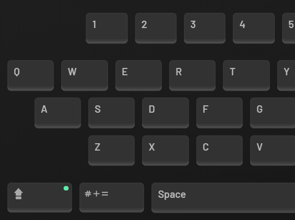 KioskBoard Dark Theme