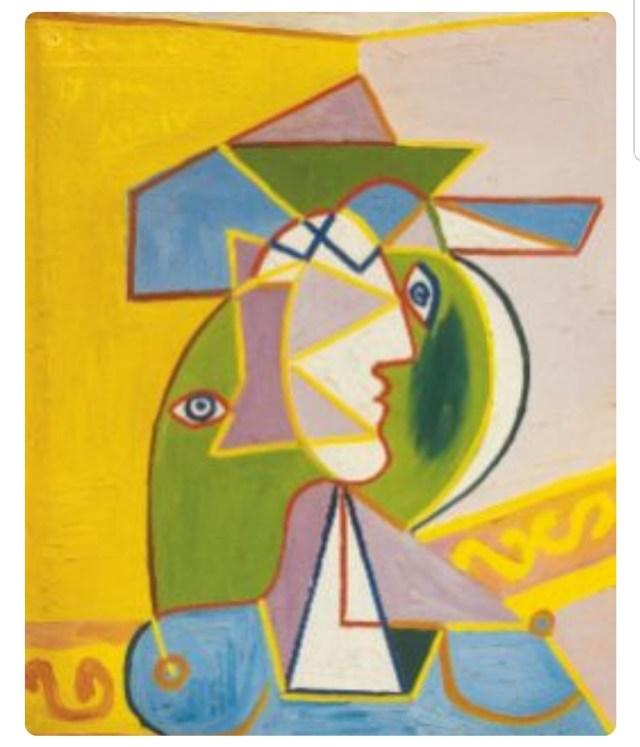 Picasso, Portrait of a Woman