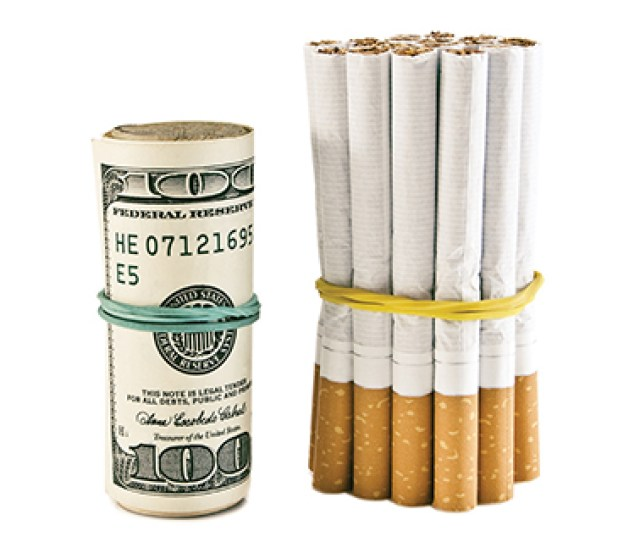 Cigarettes At Convenience Stores