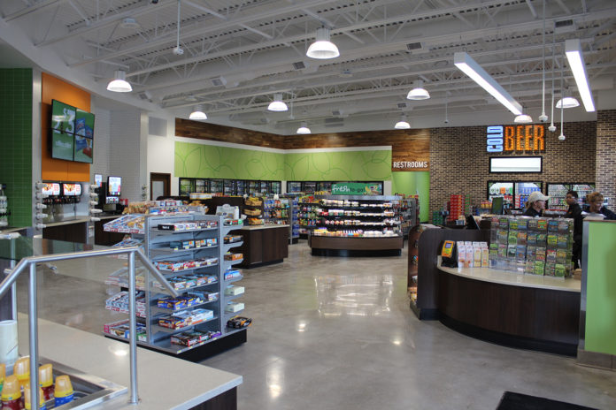 Enmarket c-store interior