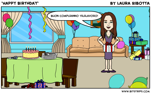'Happy birthday'