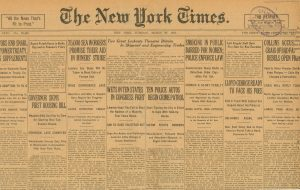 1922 NY Times Smoking in Public Barred for Women