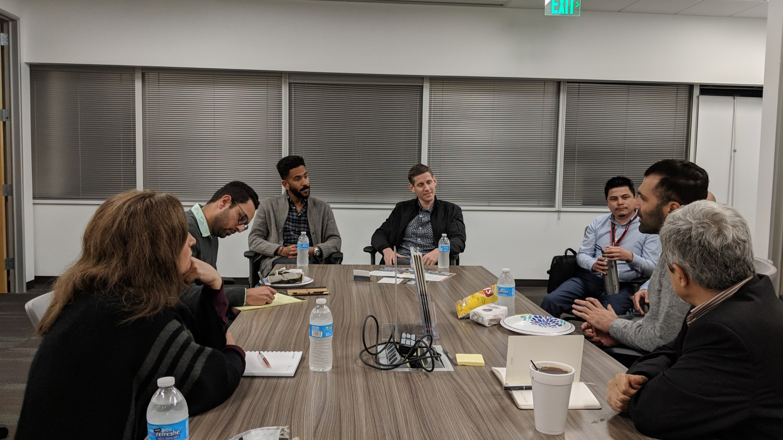 CSUF Startup Sales Talk Group Photo