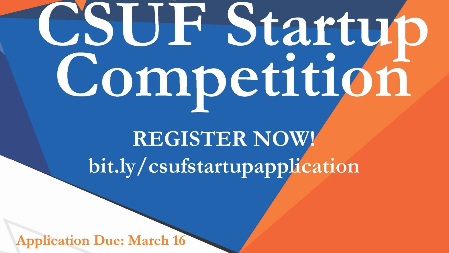 CSUF Startup Competition