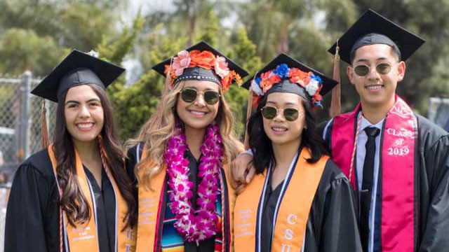 CSUF Graduation Photo (credit: Mihaylo College)
