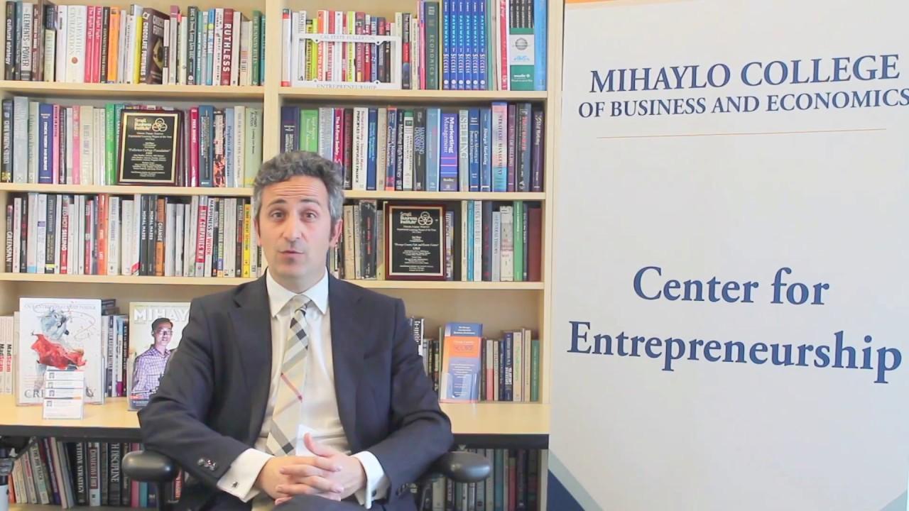 Lorenzo Bizzi CSUF Entrepreneurship
