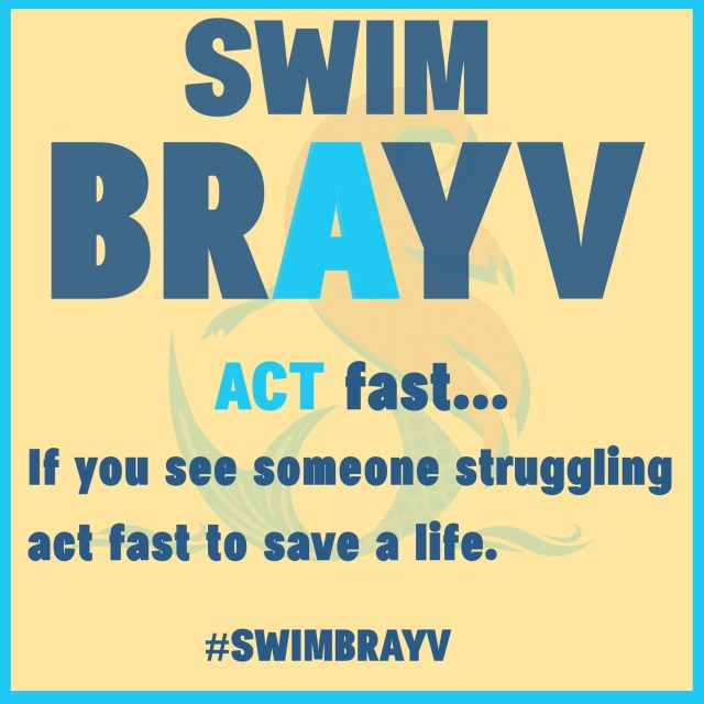 ACT fast - If you see someone struggling act fast to save a life.