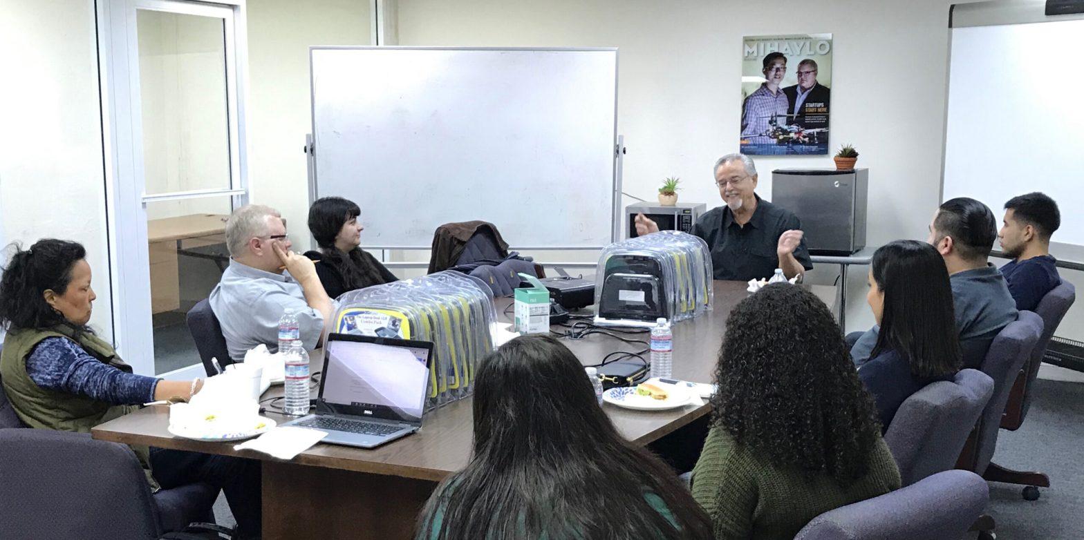 Jose Calero Talk at CSUF Startup Incubator