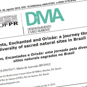 Journey through diversity of sacred natural sites in Brazil