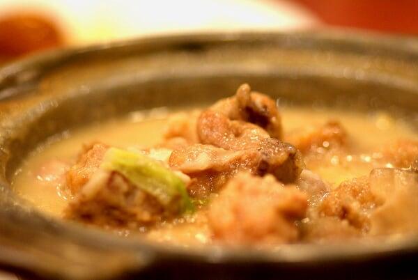 Yam & Chicken Claypot