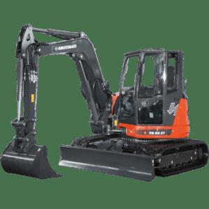 Mini excavator pe senile ES 85 ZT