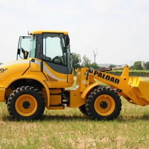 Articulated wheel loader PL 165 HS