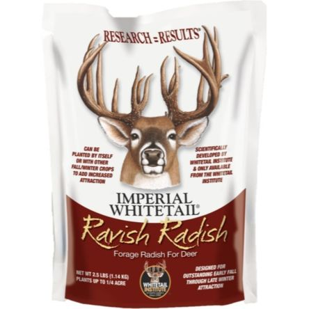 Whitetail Institute Imperial Whitetail Ravish Radish 2.5 lb