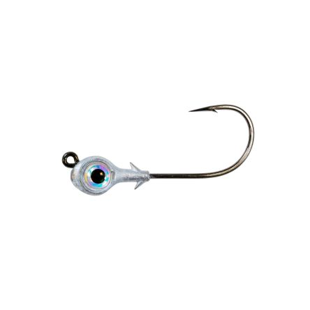 Zman Redfish Eye Jig Heads 0.25 Oz 3Pk-Pearl