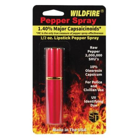 WildFire 1.4% MC Lipstick Pepper Spray Red