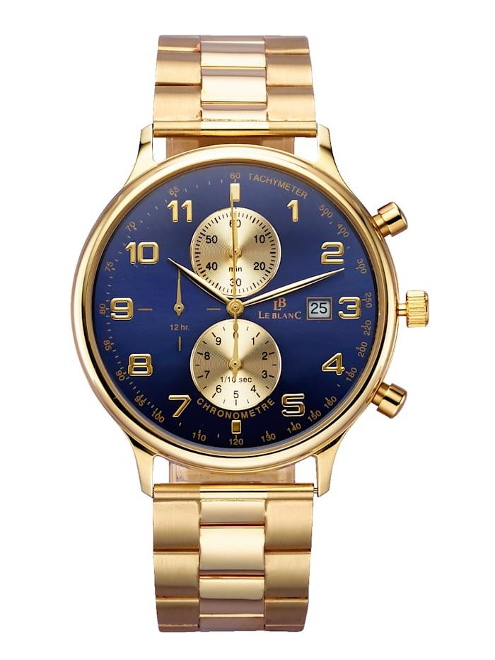 Herrenuhr-Chronometer in GG 585 Le Blanc Gelb