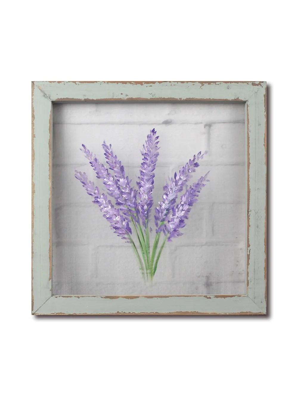 Wenko Fensterbild Bistro Gardine Lavendel 88900500