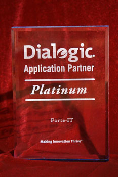 Dialogic Platinum Application Partner