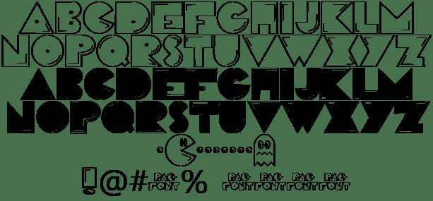 Download Pac Font Font