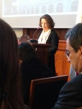 Representante da Comissão de Trabalhadores da Universidade do Porto - Joana Cunha - FBAUP