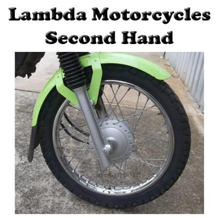 second hand c110x front wheel