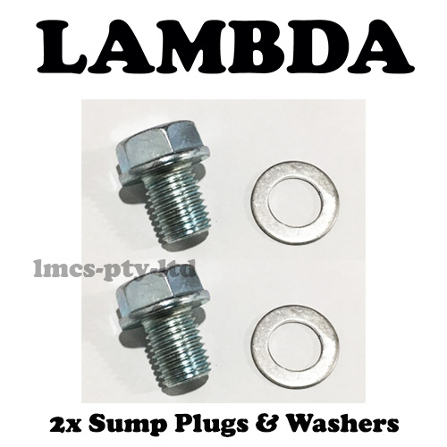 2x sump plug and washer ct110