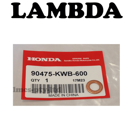 90475-KWB-600 cam chain tensioner washer ncb110